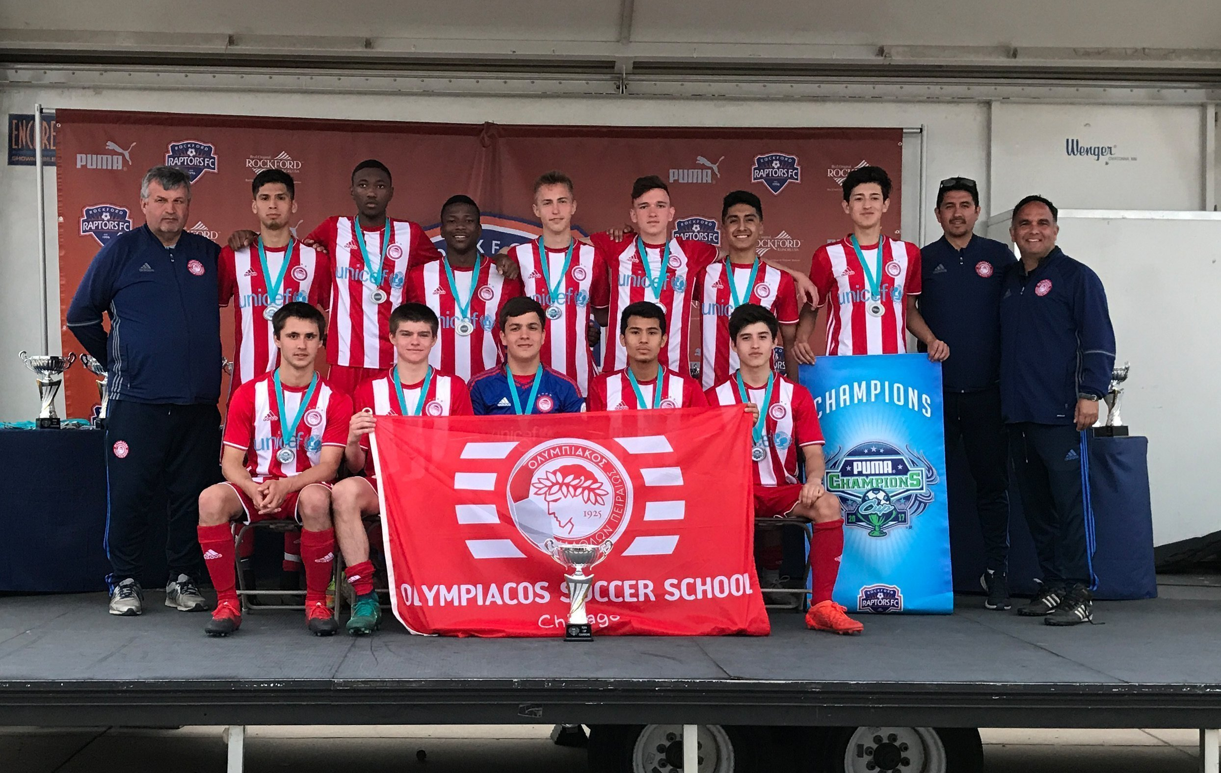 Olympiacos Chicago U18 Top Second Tournament In A Row