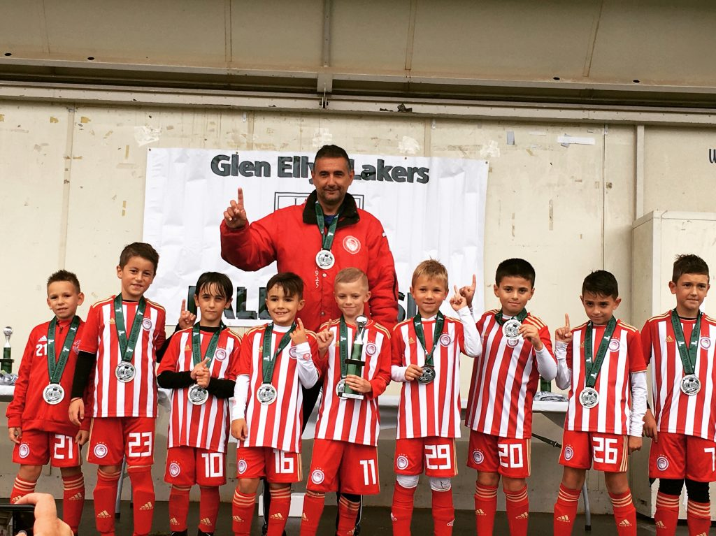Olympiacos Chicago U9 Top Lakers Fall Classic